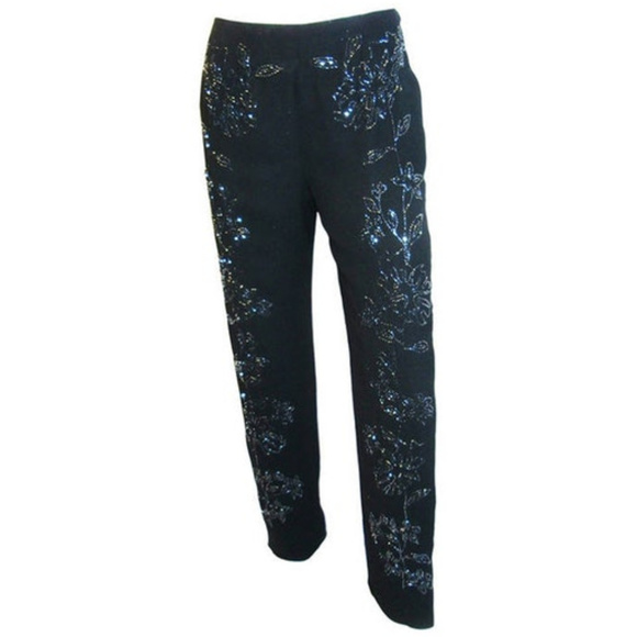 bc46d31e Pierre Balmain Pants | Silk Beaded Evening | Poshmark